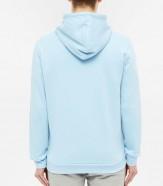adidas trefoil hoodie blue 2
